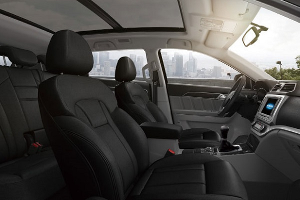 Interior Haval H6 Coupé