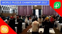 It shows the last moments from World Puzzle Championship 2017
