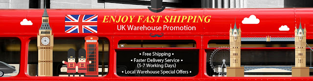UK Warehouse Promotion, Enjoy Fast Shipping, Ship From UK