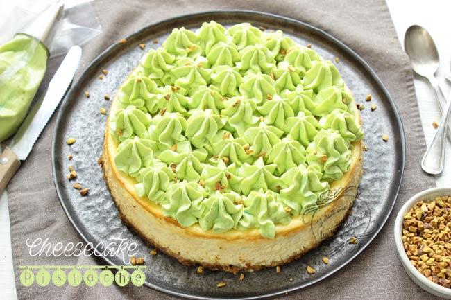 recette cheesecake pistache
