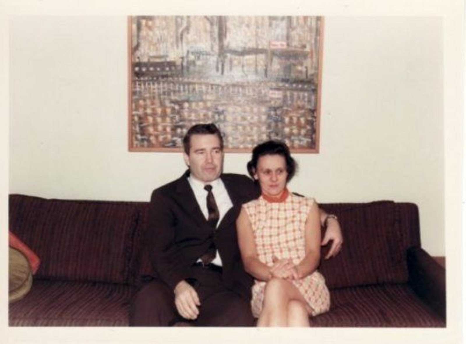 MEET MY FAMILY: MY DAD ZELMAR AND MY MOM IRENE PAYNE.  JAN 19th, 1969 THE NIGHT I LEFT FOR VIETNAM