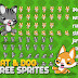 Free Sprite - 2D Game Platformer (Cat & Dog)
