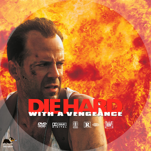 Die Hard with a Vengeance DVD Label