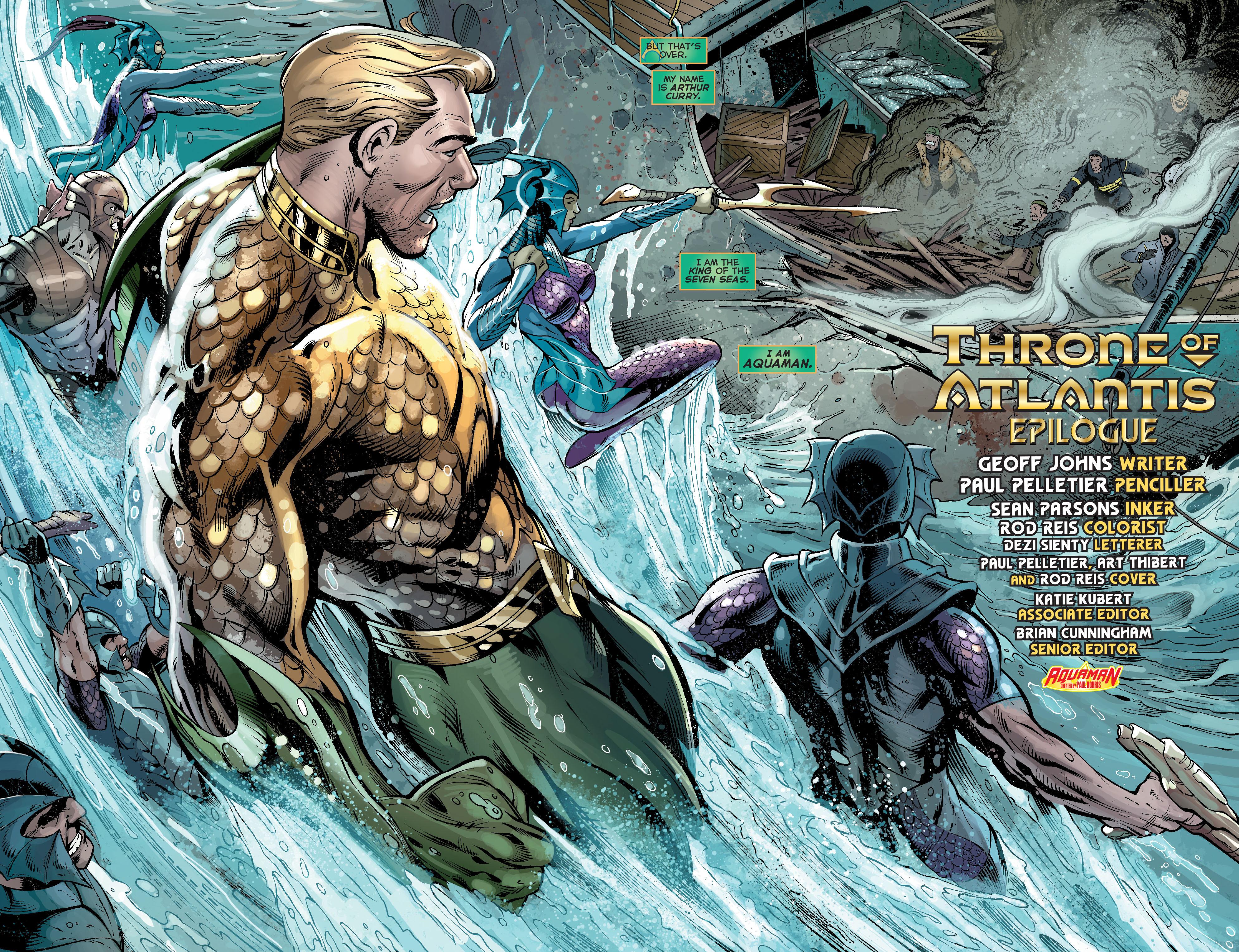 Read online Aquaman (2011) comic -  Issue #17 - 5