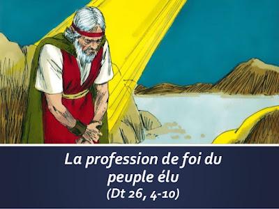 """Moïse : diaporama """"La profession de foi du peuple élu"""""""