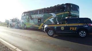 El ómnibus llevaba 66 pasajeros. Eran estudiantes de seis colegios de Posadas. Hay varios heridos. Ocurrió en la ruta 285 en la localidad de San Luis Gonzaga.
