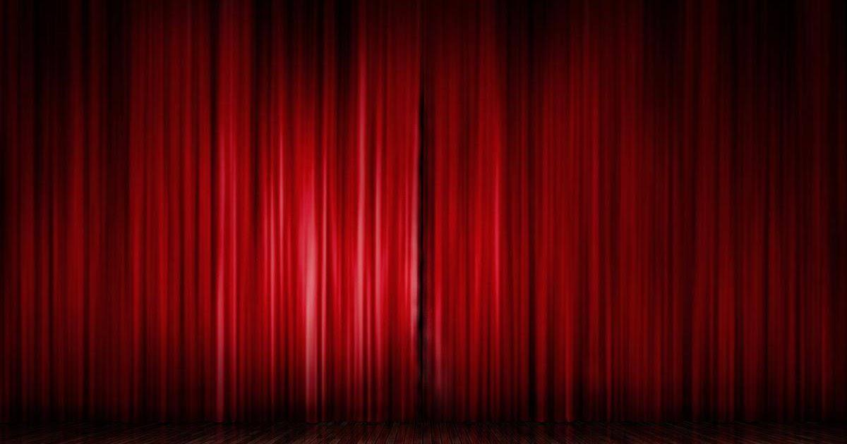 Mis Fondos Para Fotos Gratis: Fondo De Pantalla Abstracto Cortinas Del Teatro Rojas
