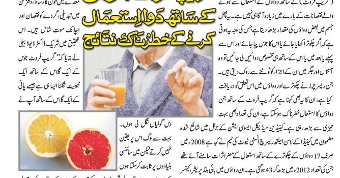 Grapefruit Juice Can Interact With Medications And Drugs