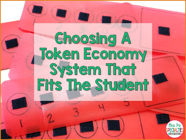 Token economy systems are fantastic for helping students better regulate their impulses and behaviors. Have you ever had a student that you thought would really benefit from a token economy system, but couldn't get him or her to stop picking the work for card apart? Don't give up! Here are some different ideas for students who pick at token economy strips.