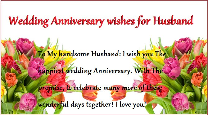 happy wedding anniversary wishes for husband with quotes images
