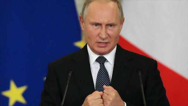 Putin promete respuesta 'eficaz' a salida de EEUU del Tratado INF