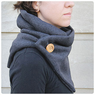 Last-Minute DIY Gifts: Keep your loved ones snuggly warm in a knit-inspired cowl