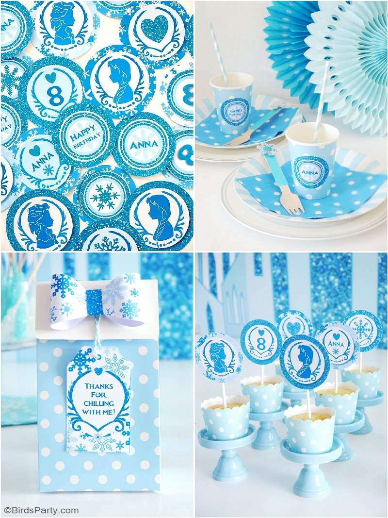 Exceptional image within printable birthday decorations