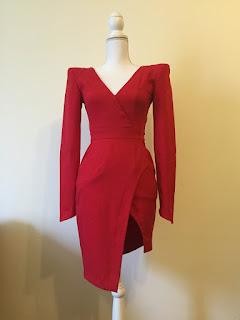 Lichidare stoc - Lashez by Bianca Dragusanu - The Red Dress