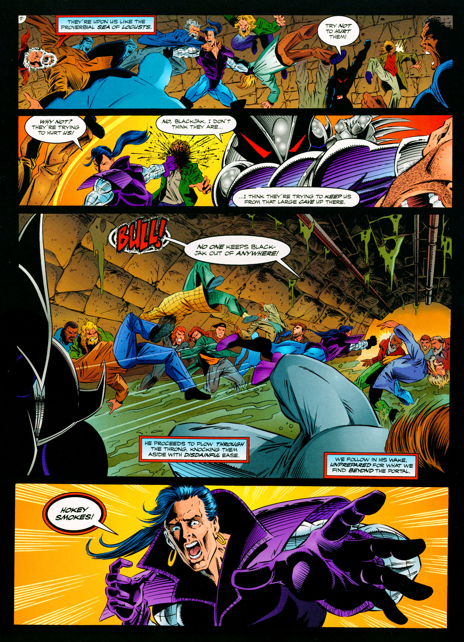 Read online ShadowHawk comic -  Issue #11 - 7