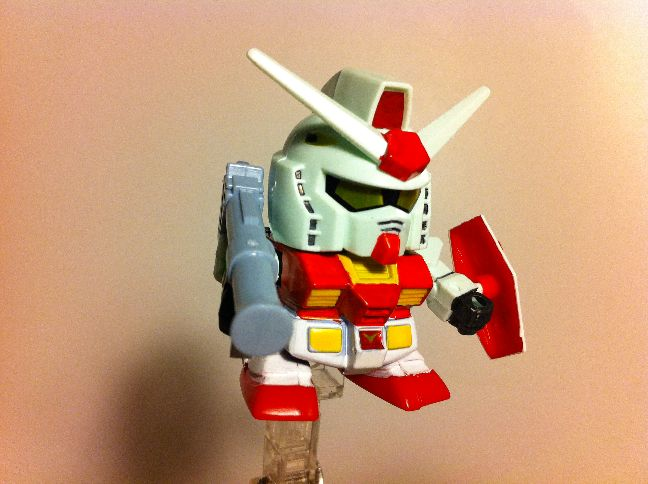 Gundam For The Barrel: SDガンダム BB戦士 In ニューヨーク