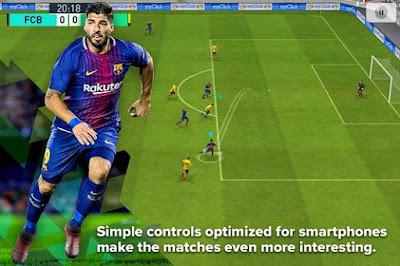 Pro Evolution Soccer 2018 (PES) v1.0 Apk + OBB data MOD