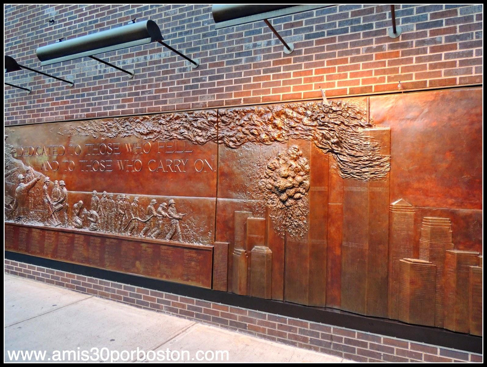 Segunda Visita a Nueva York: FDNY Memorial Wall