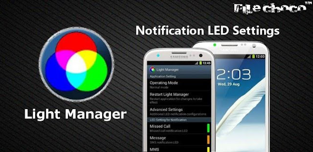 Aplikasi Pengatur Lampu Notifikasi LED Android