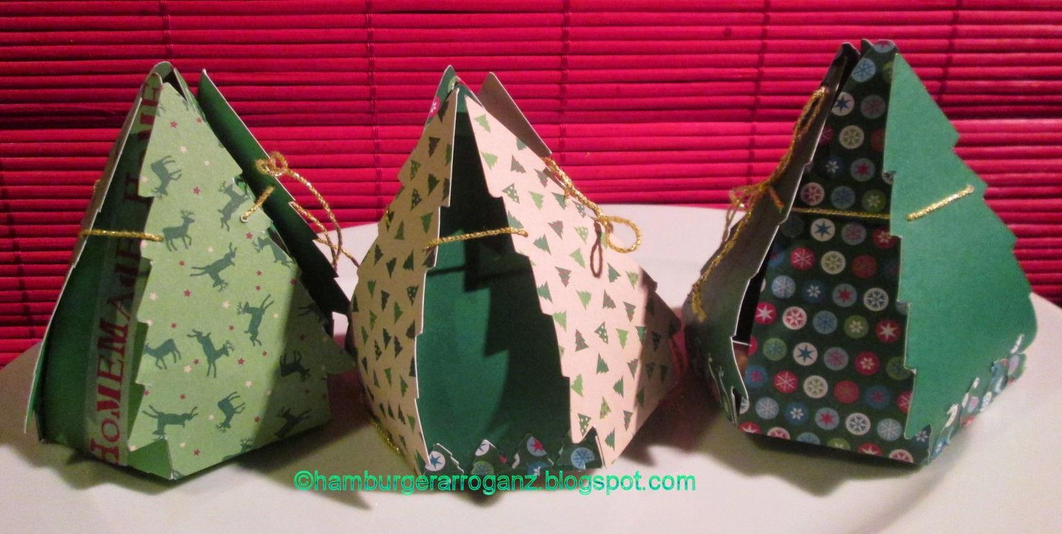 hamburger arroganz tannenbaumschachteln f r kleine weihnachtsgeschenke. Black Bedroom Furniture Sets. Home Design Ideas