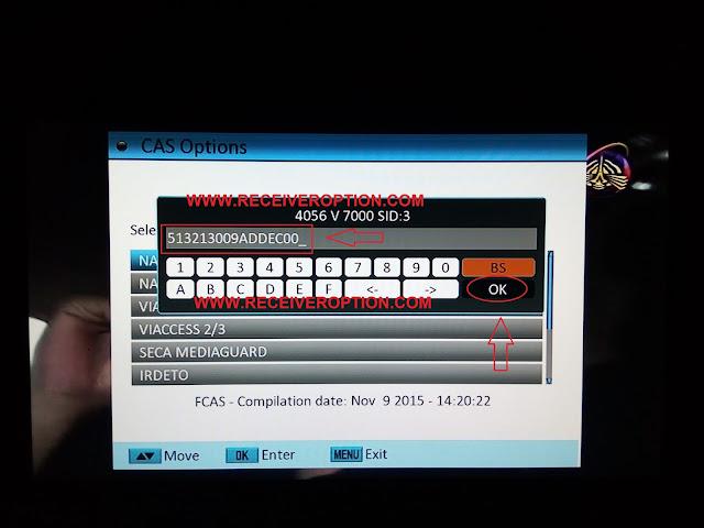 SUPER GOLDEN LAZER 2012 HD RECEIVER BISS KEY OPTION