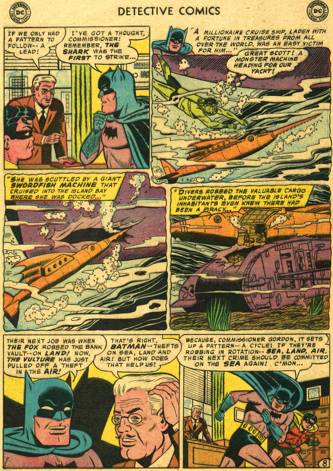 Read online Detective Comics (1937) comic -  Issue #253 - 10