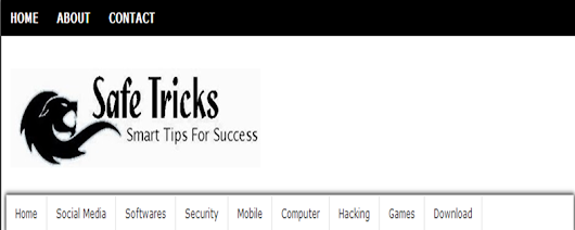 RELEASING Safe tricks - A Responsive Blogger Template         ~          Safe Tricks