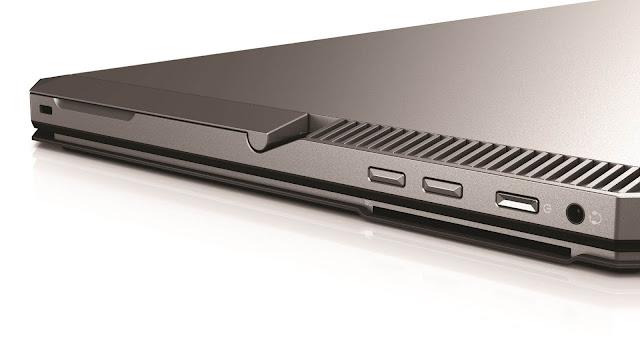 HP ZBook x2 ports
