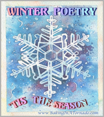 Winter Poetry | www.BakingInATornado.com | #MyGraphics
