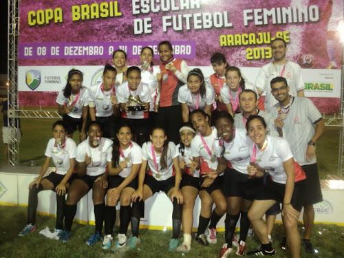 Futsal feminino Sub-17  Colégio Batista Mineiro campeão dos Jogos ... b5352413986ac