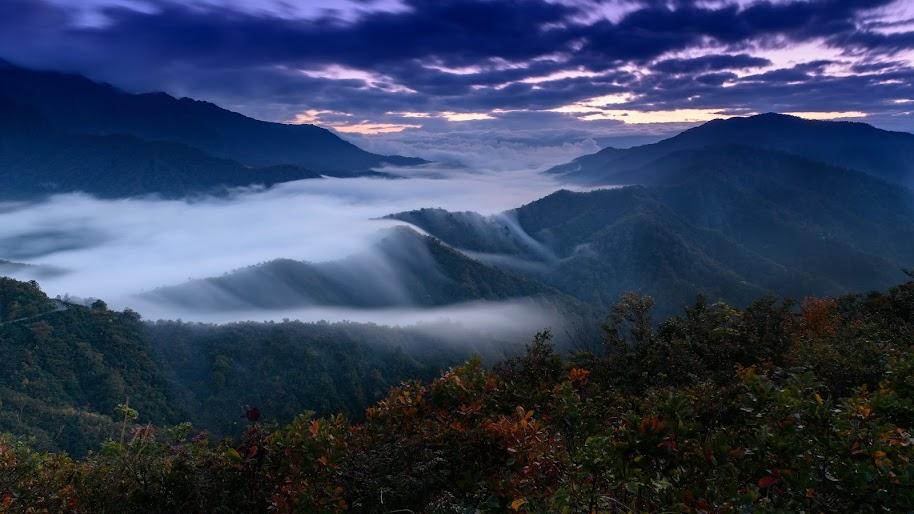 Mountain, Fog, Scenery, Landscape, Nature, 4K, #180