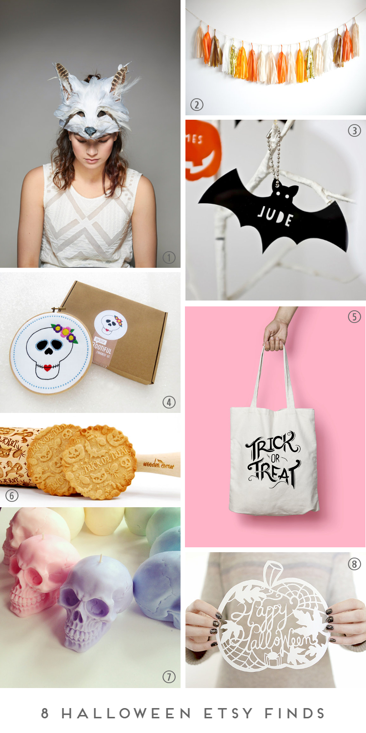 8 HALLOWEEN ETSY FINDS