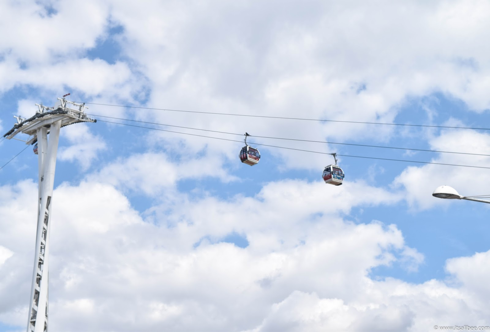 Emirates cable cars