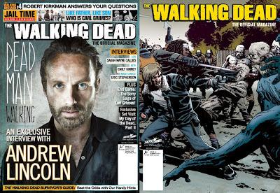 The Walking Dead Official Magazine, le cover del numero 4
