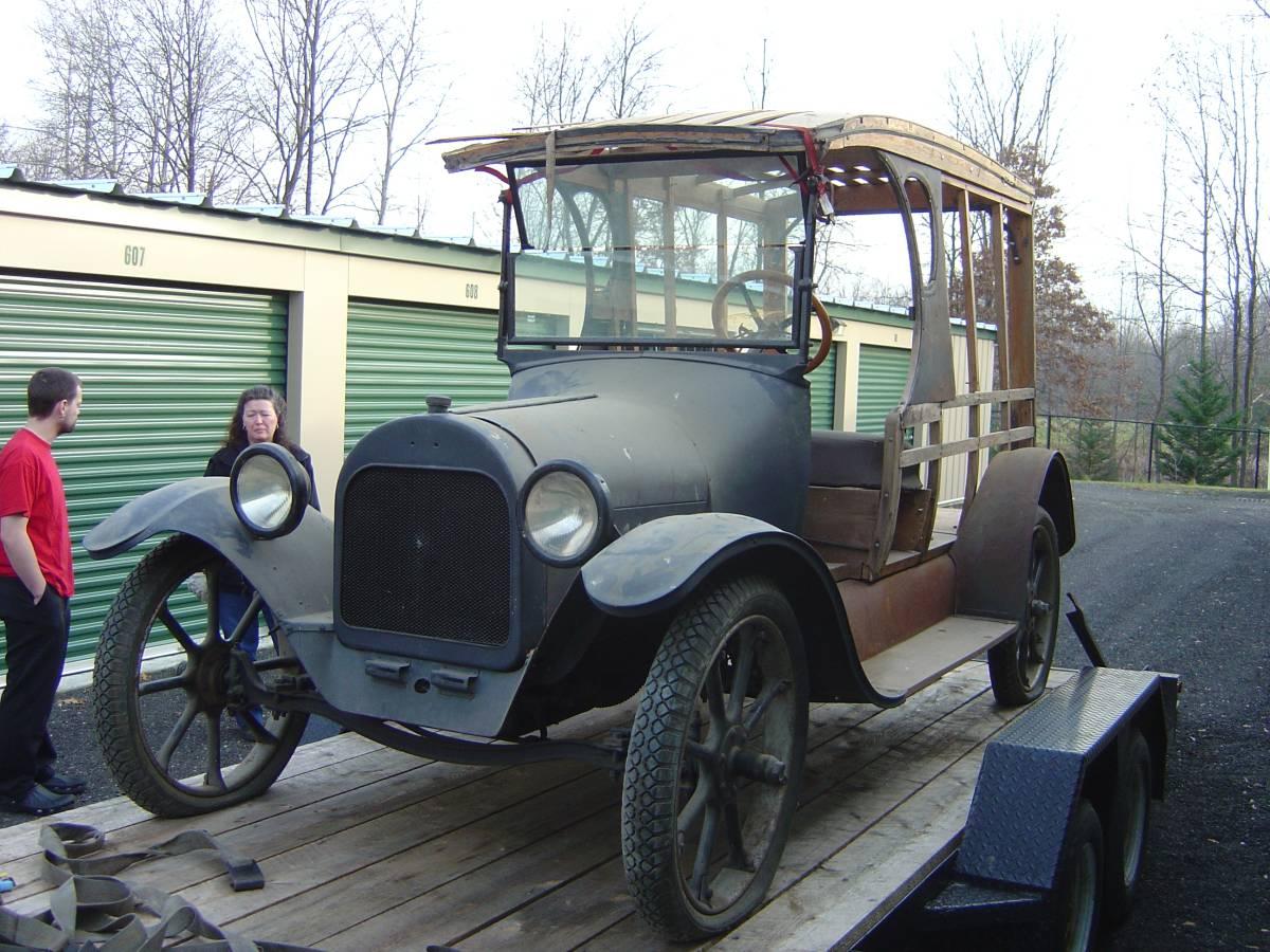 Daily Turismo: 1920 Chevrolet C-Cab Ice Truck