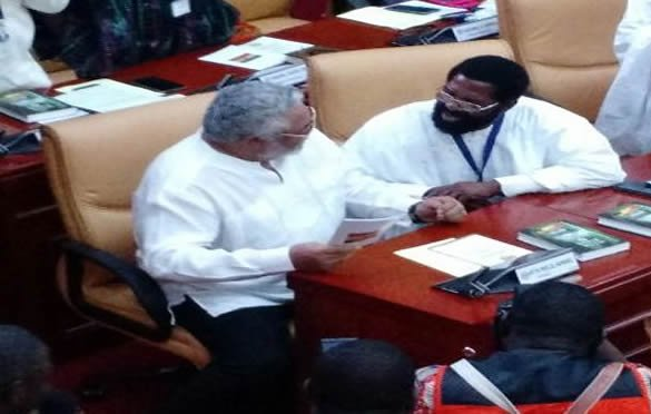 Rawlings patches up with Accra Mayor after public snub