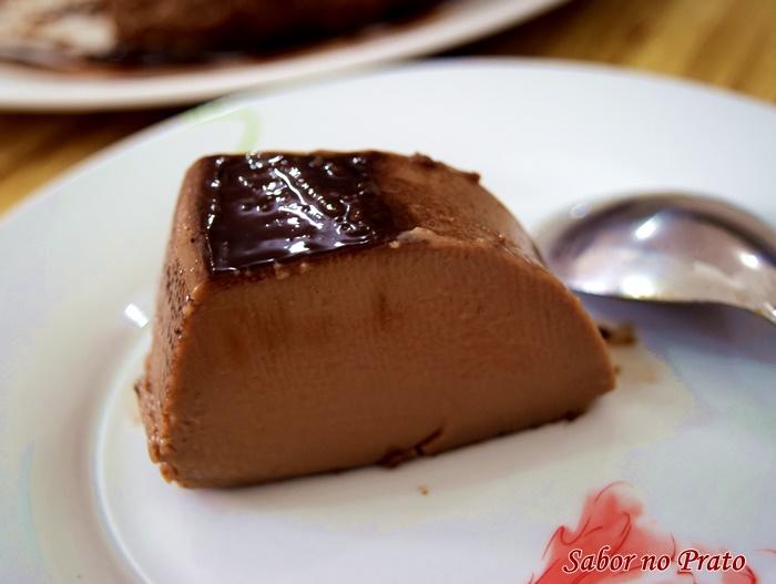 Pudim de Chocolate fácil