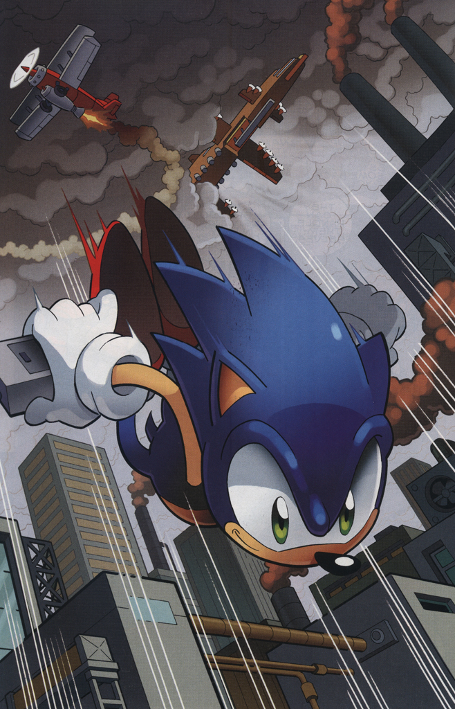 Read online Sonic The Hedgehog comic -  Issue #228 - 30