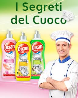 Logo Concorso '' I segreti del cuoco'' : Vinci uno Chef a domicilio