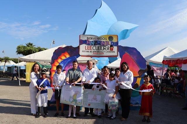 En Manzanillo, más de 600 estudiantes participan en Festival LeeCultura: SE