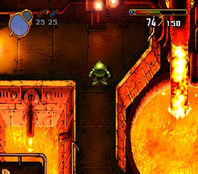 Elemental Gimmick Gear - Lava hirviendo
