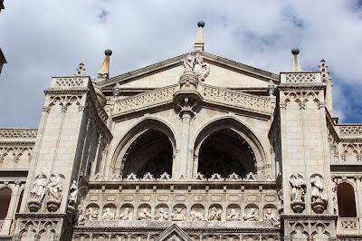Arcos de la fachada del Perdón