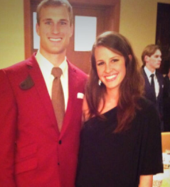 Julie Hampton kirk cousins, age, wiki, biography