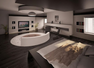 decorar dormitorio jacuzzi