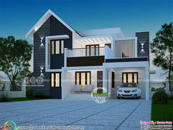 1730 square feet 4 bedroom modern home