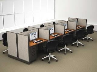 Tata Ruangan Kantor Tertutup/Berkamar (Cubicle Type Offices)