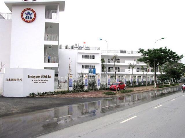 Trường quốc tế Việt - Nhật ngay gần dự án Louis City