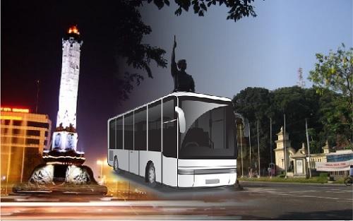 Bus Malem Bus Solo Semarang
