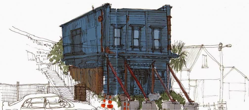 Skechers, San Francisco, CA | A very large Skechers scaffold