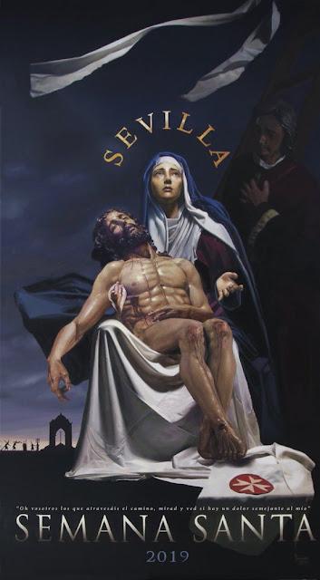 Así es el cartel de la Semana Santa de Sevilla 2019 obra de Fernando Vaquero